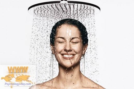 Контрастный душ - это очень полезно