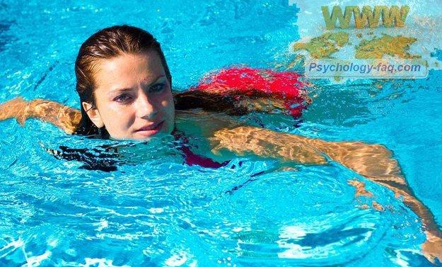 Похудеть плавая