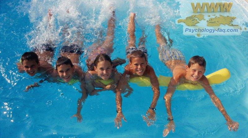 Плавание для детей полезно