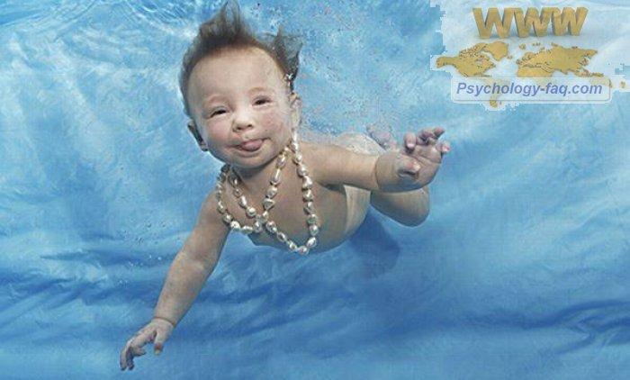Полезность плавания для детей