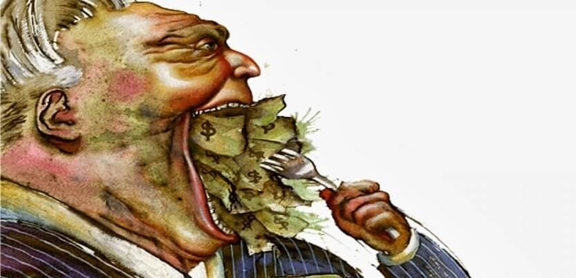 признаки жадности